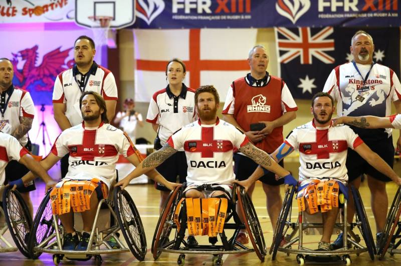 Twin challenge awaits Wheelchair Rugby League team