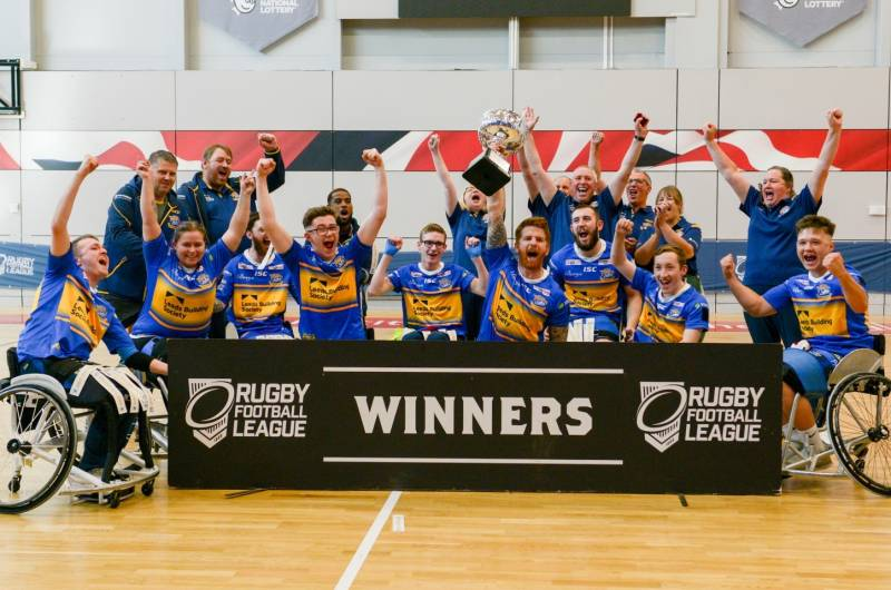 Wheelchair Challenge Cup triumph for Leeds Rhinos