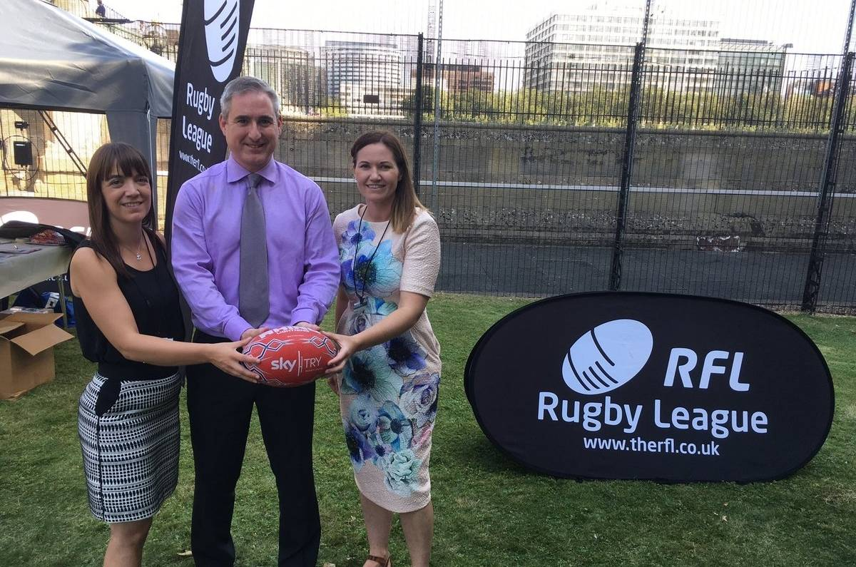 Grassroots Rugby League showcased in Parliament