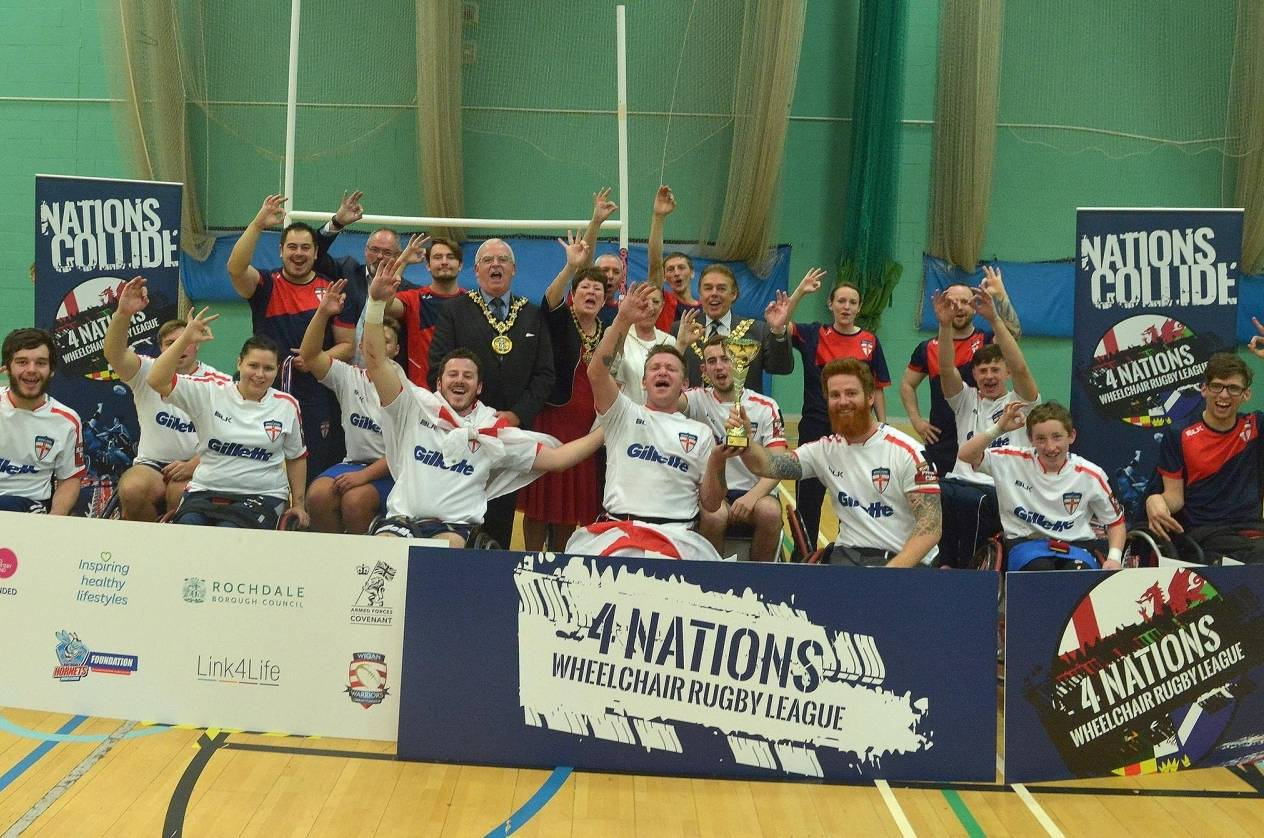 England claim Wheelchair 4 Nations title
