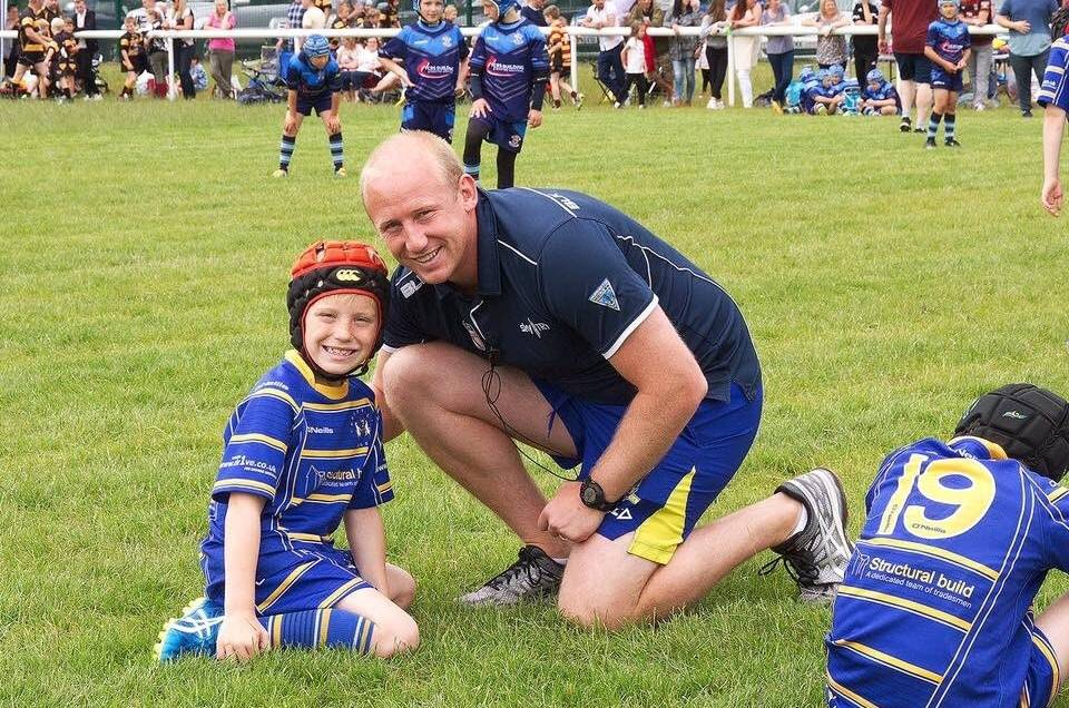 Shaun Briscoe helps kids get active with Sky Try