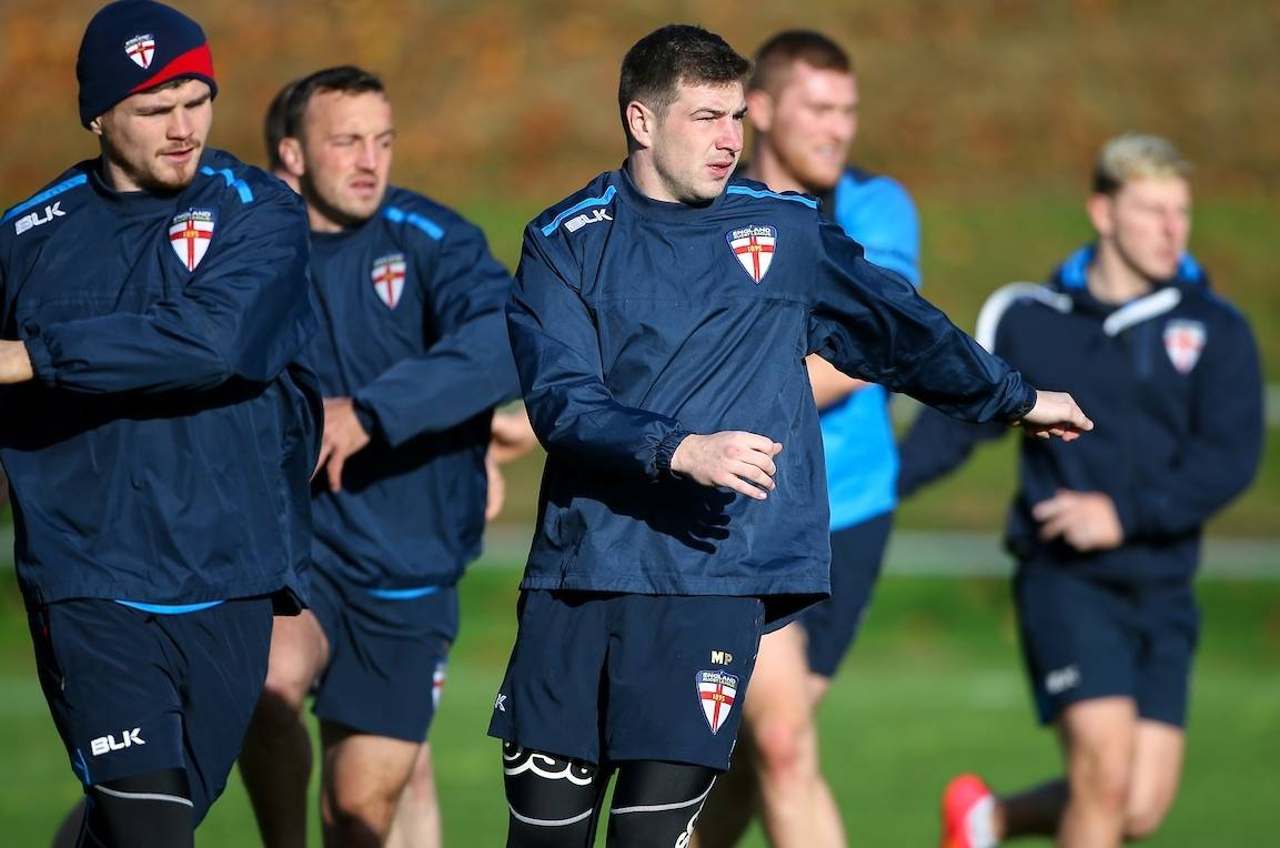 England Rugby League Training Camp cancelled