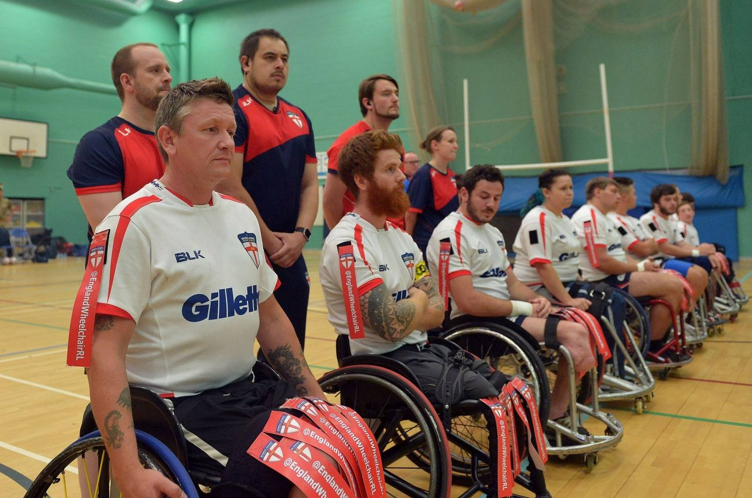 England Wheelchair RL are back in training!