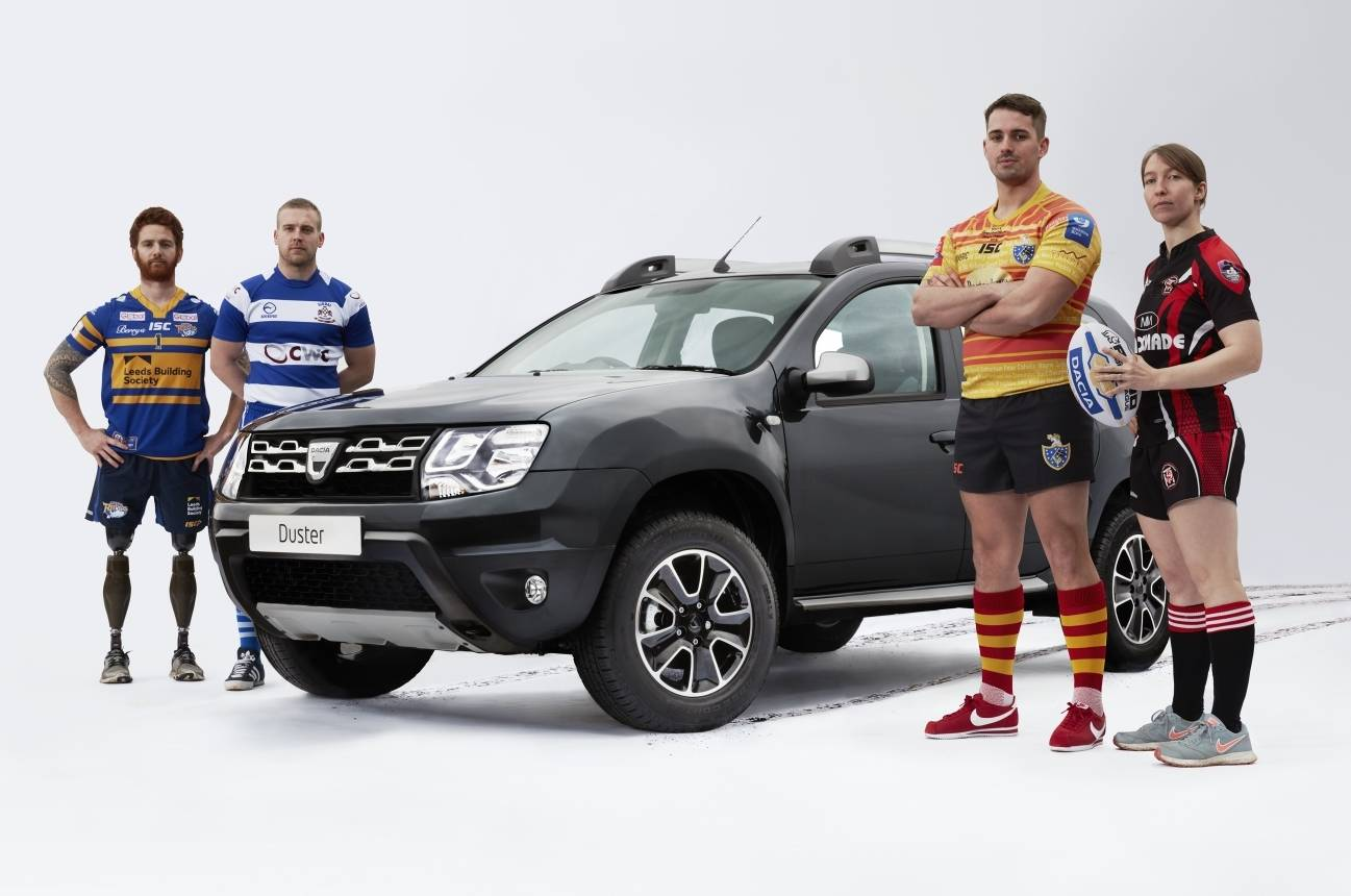 Your chance to train with a Super League team thanks to Dacia