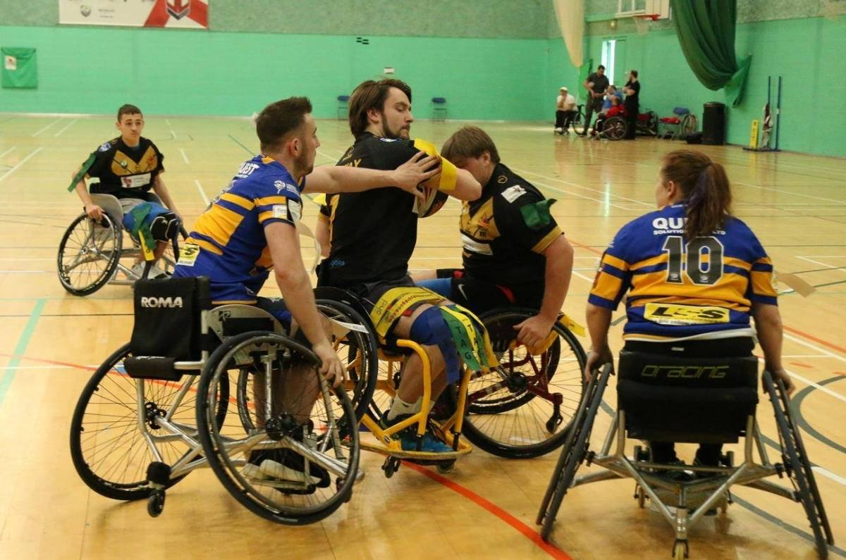 Wheelchair Rugby League week two round-up
