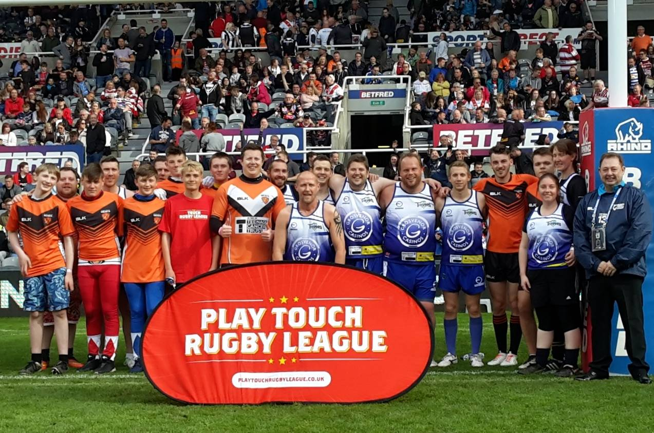 The UK's only national Play Touch Rugby League competition is back!