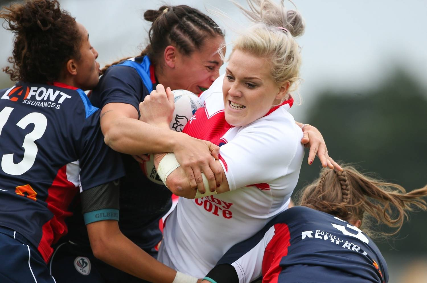 Report | France Women 16-26 England Women