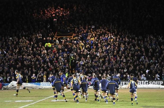 Rhinos set for emotional night