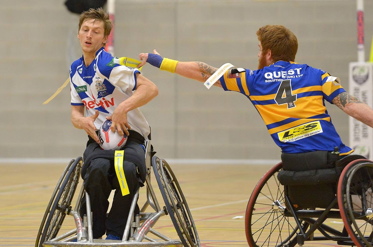 Brown scores 15 tries as Halifax win Wheelchair Challenge Cup