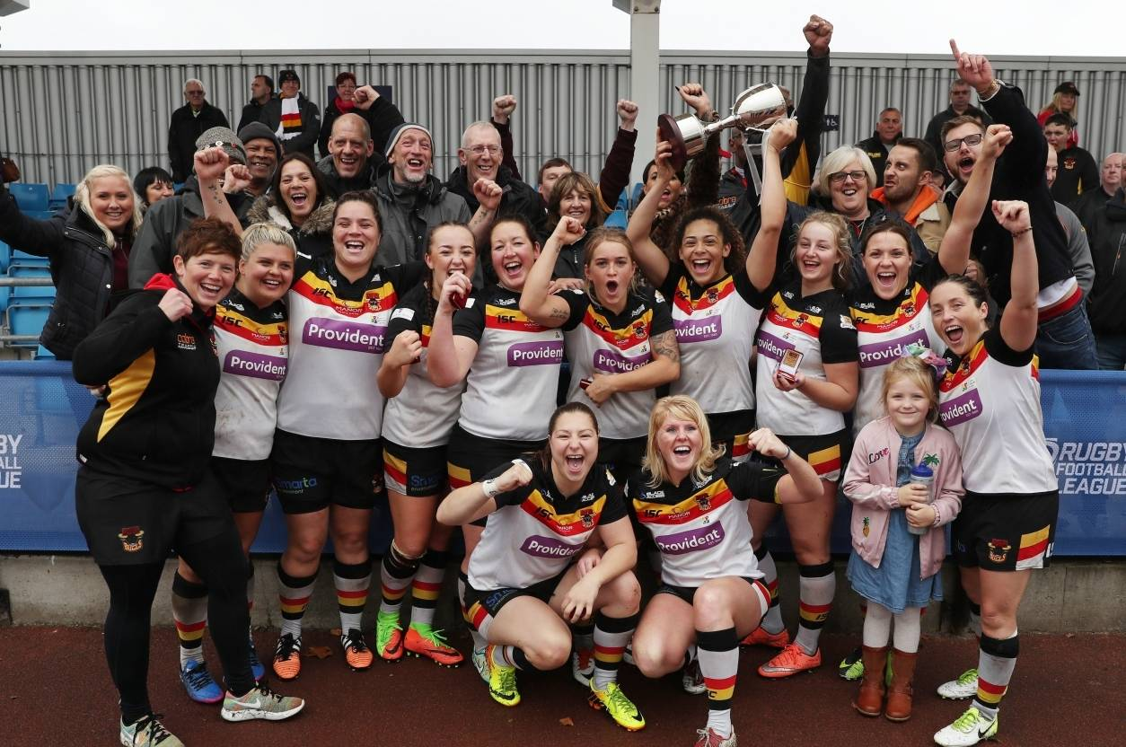 Bradford Bulls become first-ever Women's Super League champions