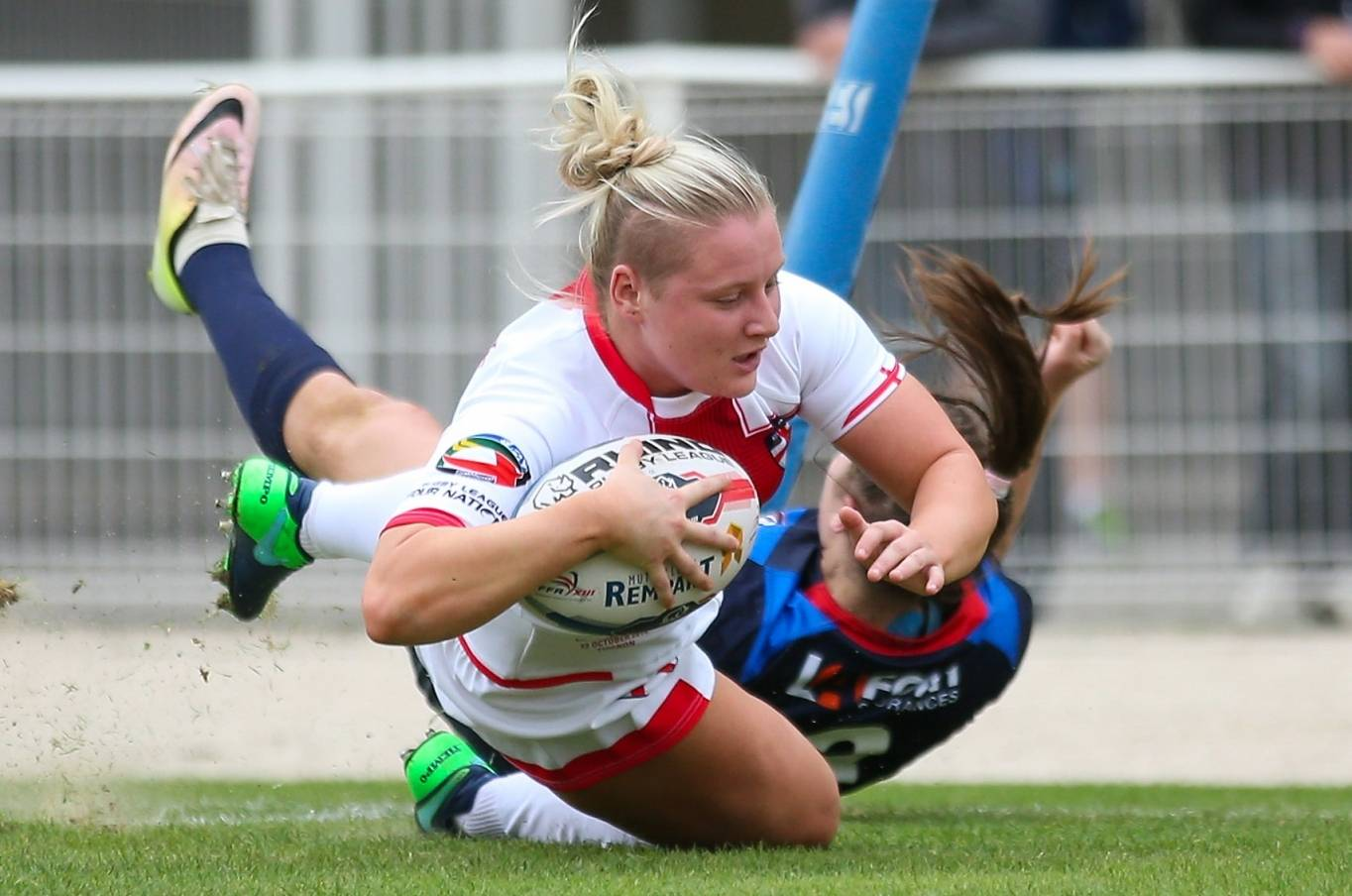 Charlotte Booth becomes first female TASS Rugby League player