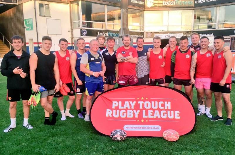 Wakefield Trinity's Touch Rugby League is back!