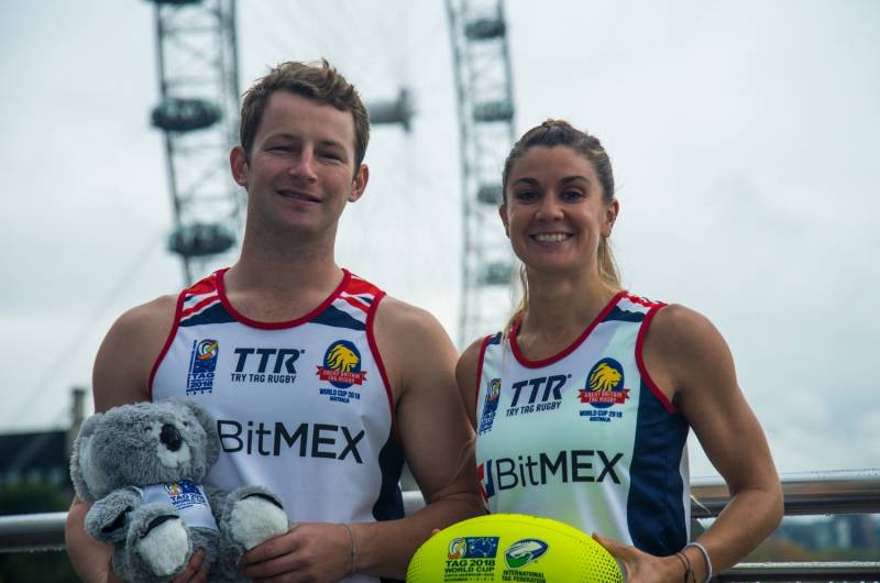Tag World Cup: Great Britain Launch playing Kit
