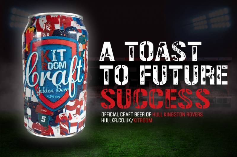 Hull KR launch Official Beer