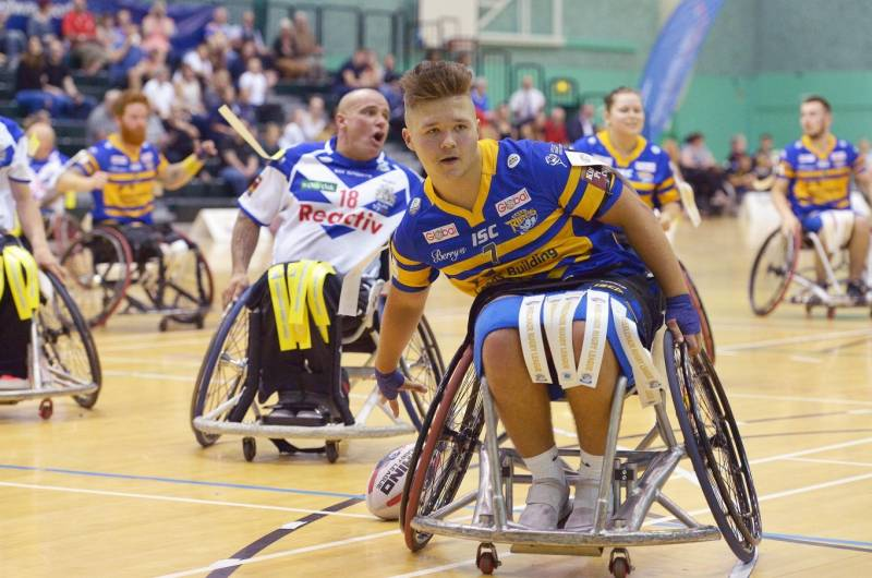 Give Wheelchair Rugby League a try at the 2019 Season Launch this weekend