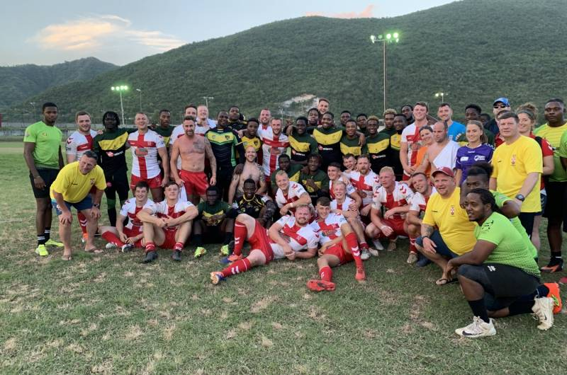 North West English Lionhearts and Jamaica A share spoils