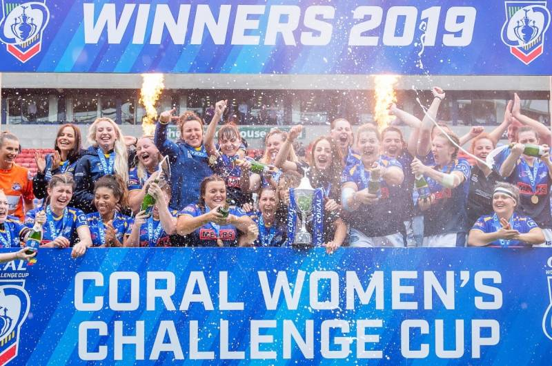 Rhinos retain Coral Women's Challenge Cup