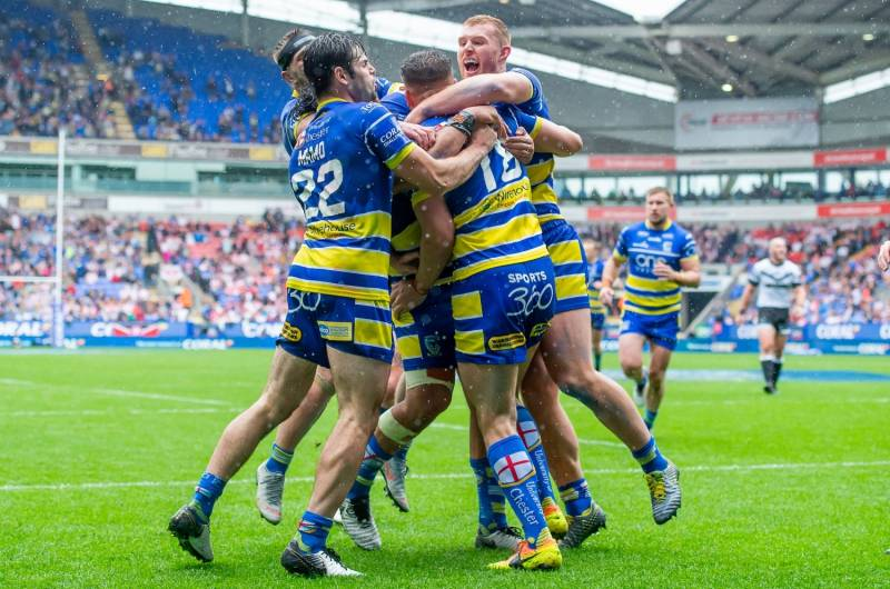 Warrington edge past Hull FC to book Wembley place