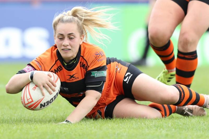 Castleford hammer reigning champions Wigan