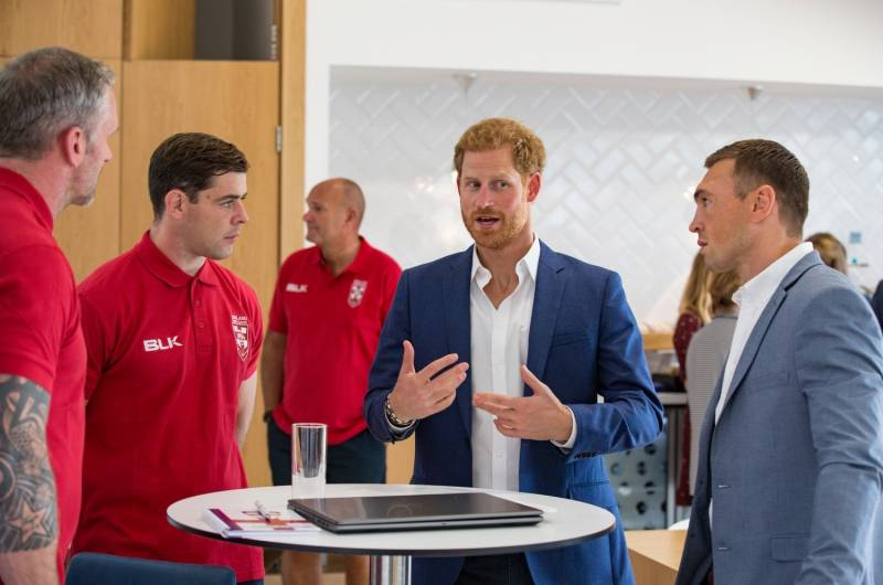 Duke of Sussex to continue as Patron of the Rugby Football League