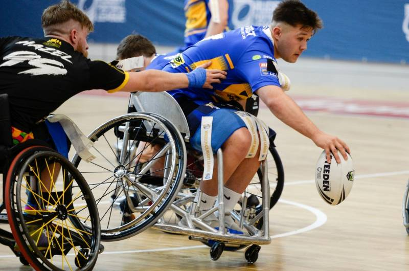 Wheelchair Rugby League Grand Final double-header