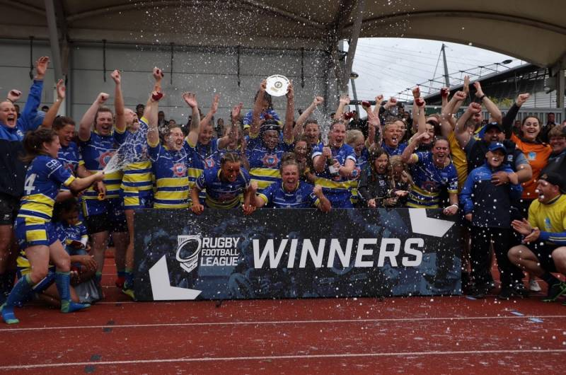 Warrington and Keighley triumph on Women's Finals Day