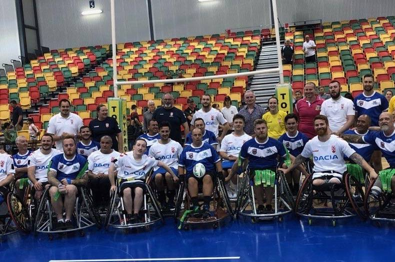 Platt inspires England Wheelchair team to victory in first tour game