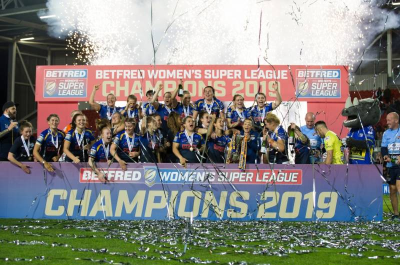 Giants and Wolves to join Betfred Women's Super League in 2020