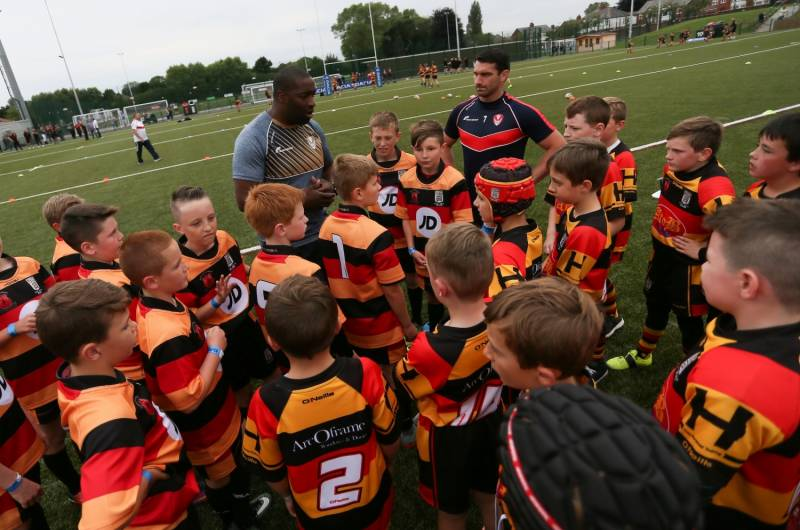 Rugby League teams join forces to tackle youth crime
