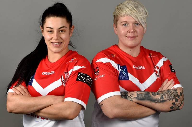 Former Wigan Captain Gemma Walsh joins wife Emily at St Helens