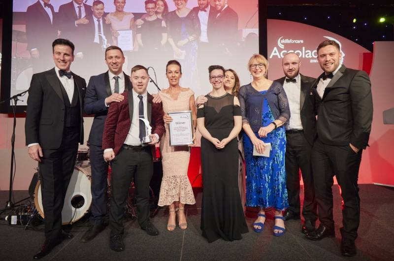 Learning Disability Super League wins top care sector award