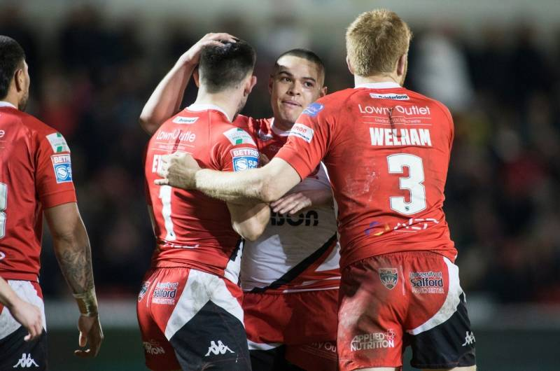 Victories for Warrington, Salford and Castleford