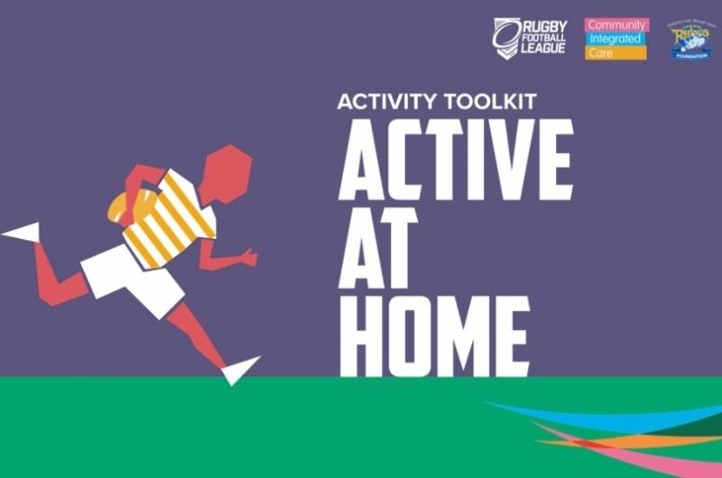 Rugby Football League to Launch #ActiveAtHome initiative