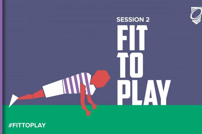 Session 2 of #FitToPlay is here for students and pupils