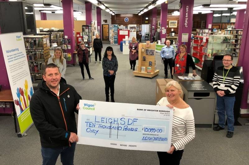 Leigh Centurions donate 10k to help COVID-19 response