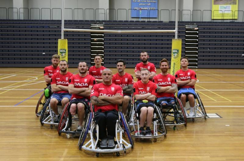 Inaugural Wheelchair Rugby League World Rankings revealed
