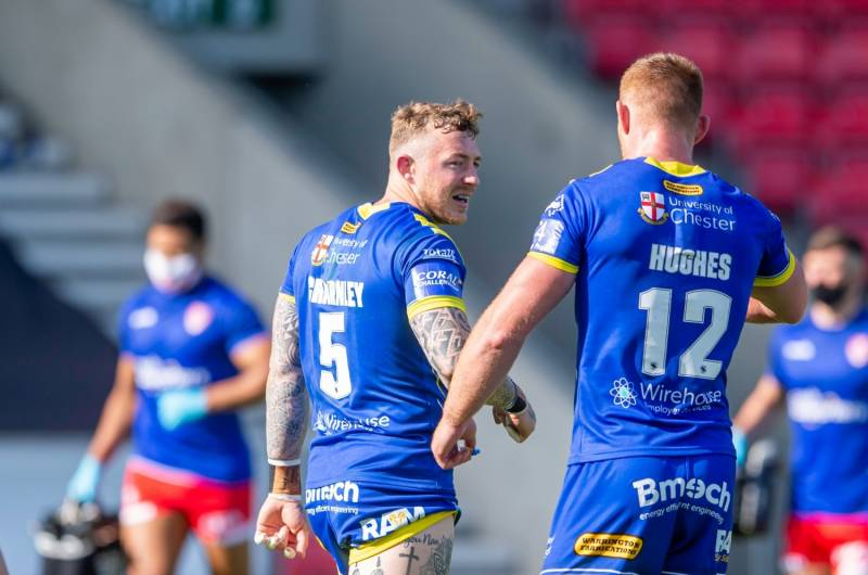 Warrington succesfully begin defence of Coral Challenge Cup