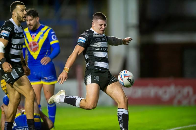 Warrington Wolves 14-27 Hull FC