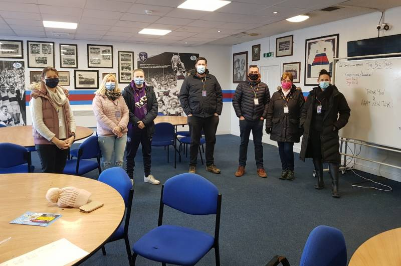 Wakefield Trinity Foundation successfully deliver 'The Big Feed'