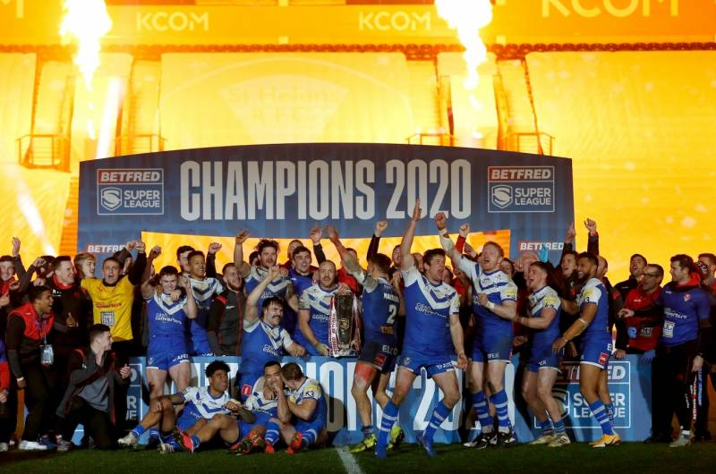 Updated 2021 Betfred Super League season details