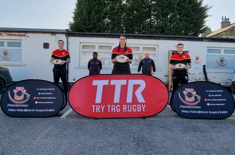 Try Tag Rugby partner with Bradford Bulls Foundation
