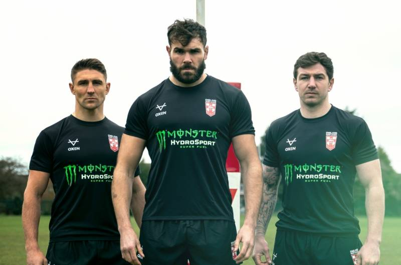 England announce Monster partnership