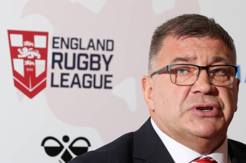Shaun Wane names England squad ahead of April training session
