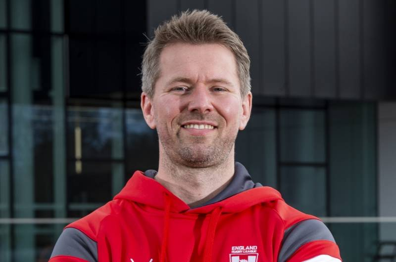 Red Devils' physio joins England Rugby League backroom team