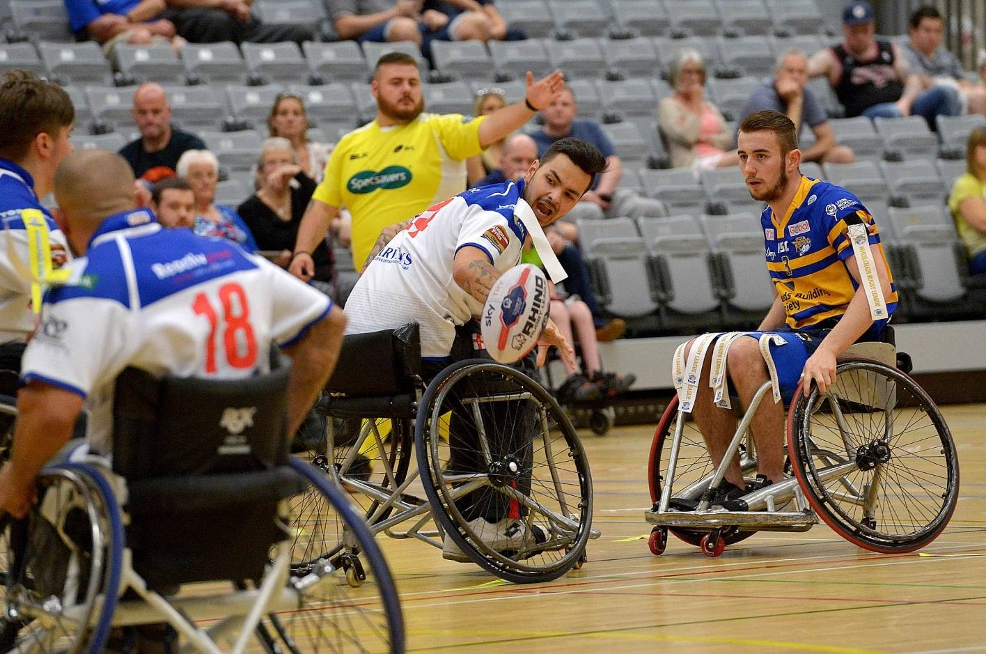 Halifax and Leeds Rhinos to contest Wheelchair Grand Final