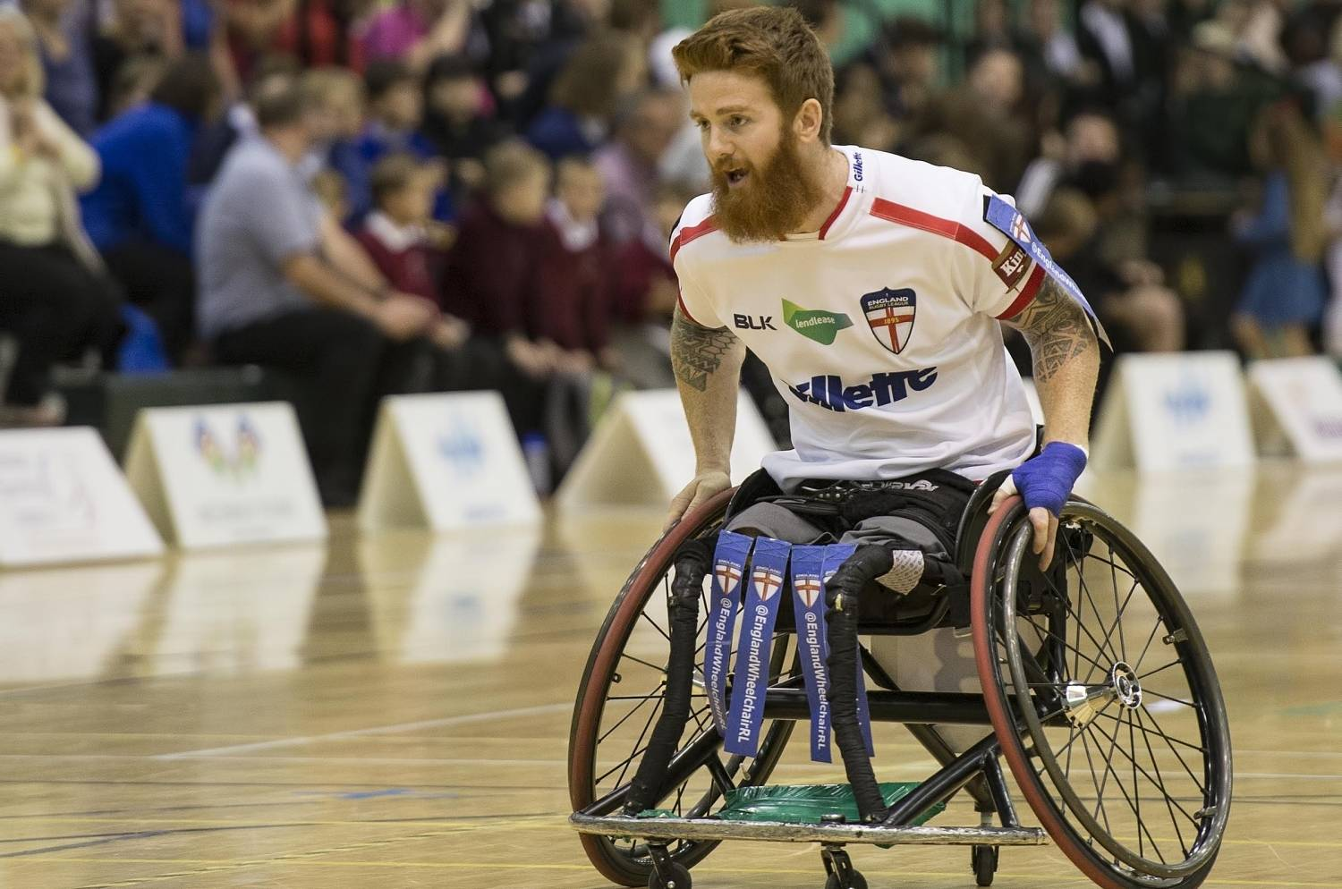 england wheelchair rl announce joint captaincy