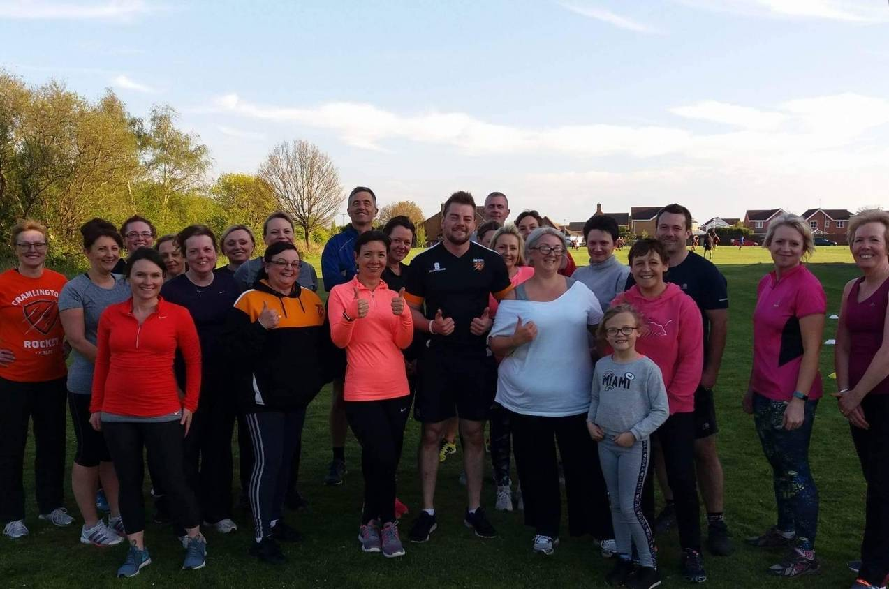 Cramlington club launch boot camp