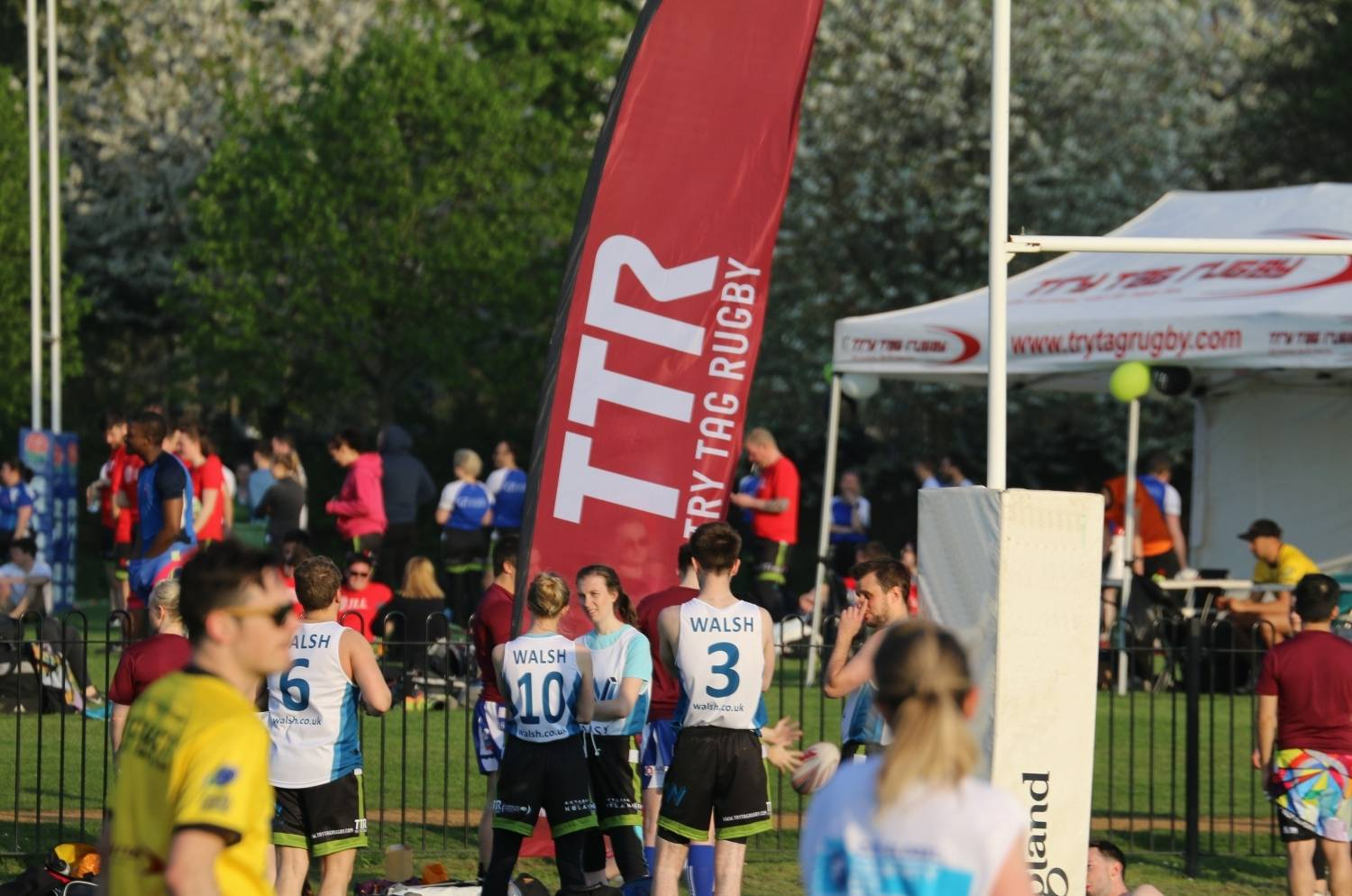 Try Tag Rugby sees rise in player numbers