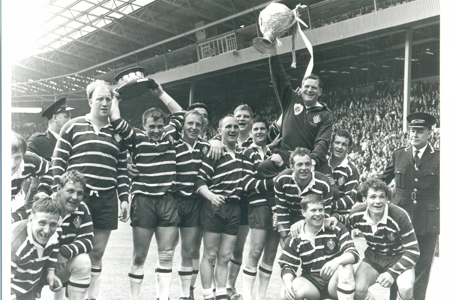 Lucky 7s: Featherstone v Barrow, Challenge Cup Final 1967