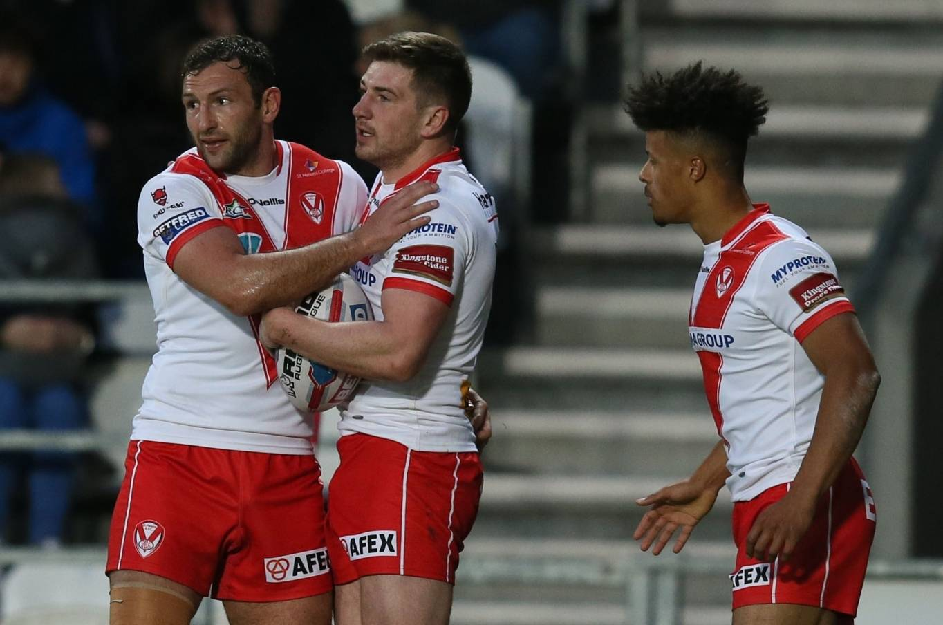 Percival's 22 points earn Saints key victory over Dragons